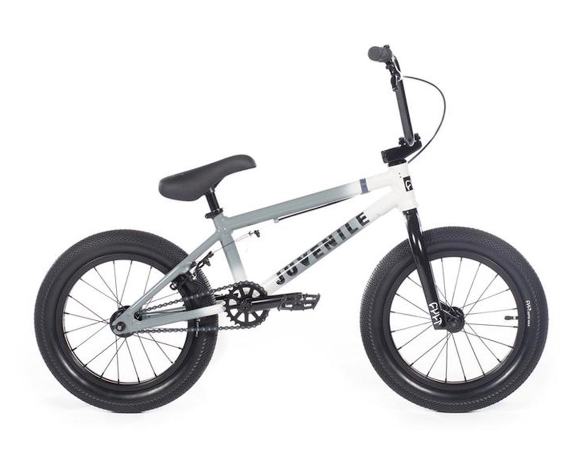 """Cult 2020 Juvenile 16"""" Bike (16.5"""" Toptube) (Grey/White)"""