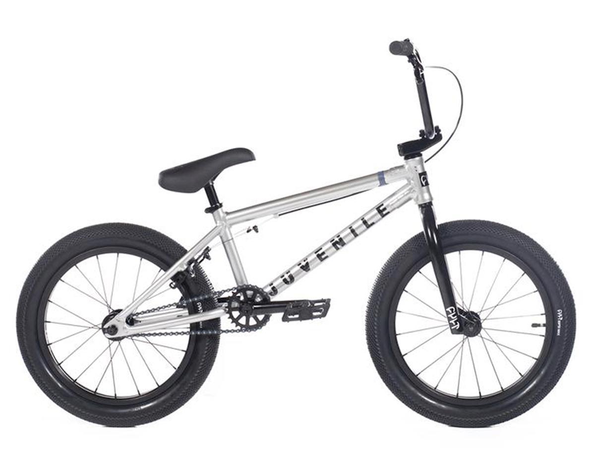 """Cult 2020 Juvenile 18"""" Bike (18"""" Toptube) (Silver)"""