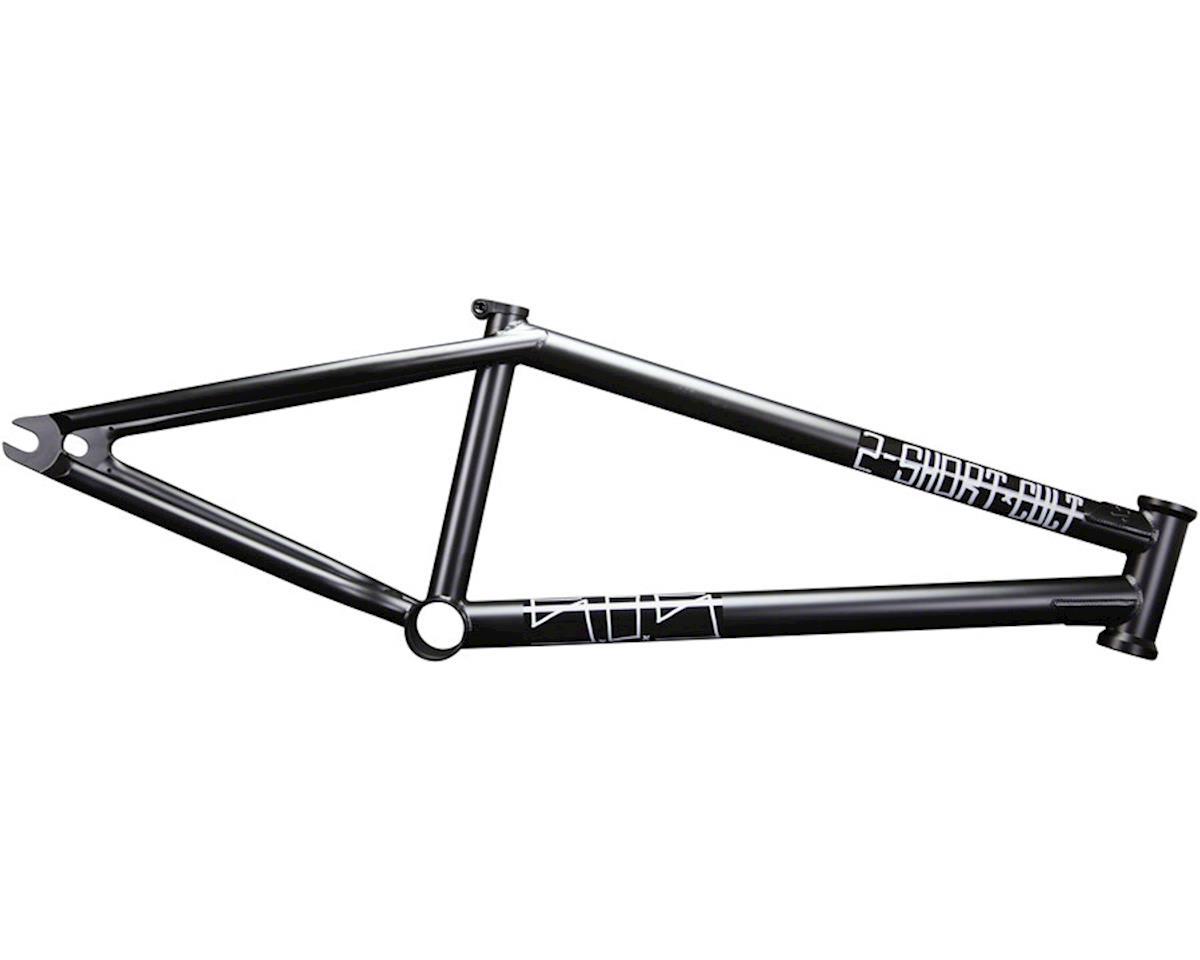 "Cult 2 Short BMX Frame -  20.75"" TT,  Black"
