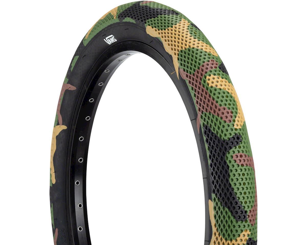Cult Vans Tire (Green Camo/Black) (20 x 2.40)
