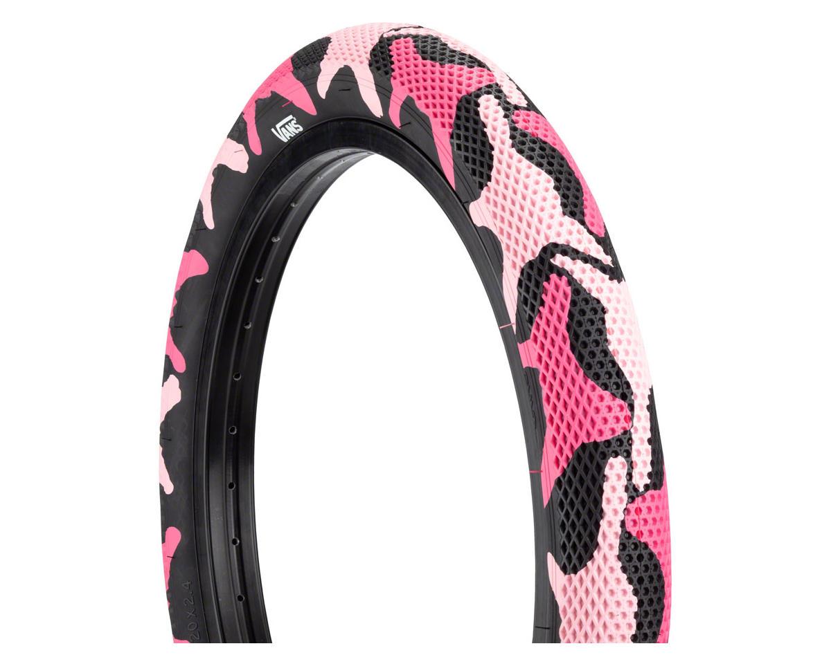 Image 1 for Cult Vans Tire (Pink Camo/Black) (20 x 2.40)