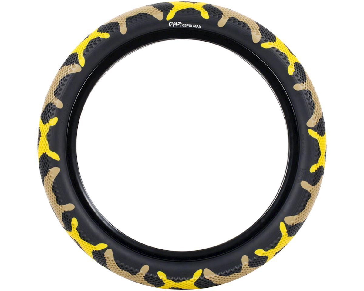 Cult Vans Tire (Yellow Camo/Black)