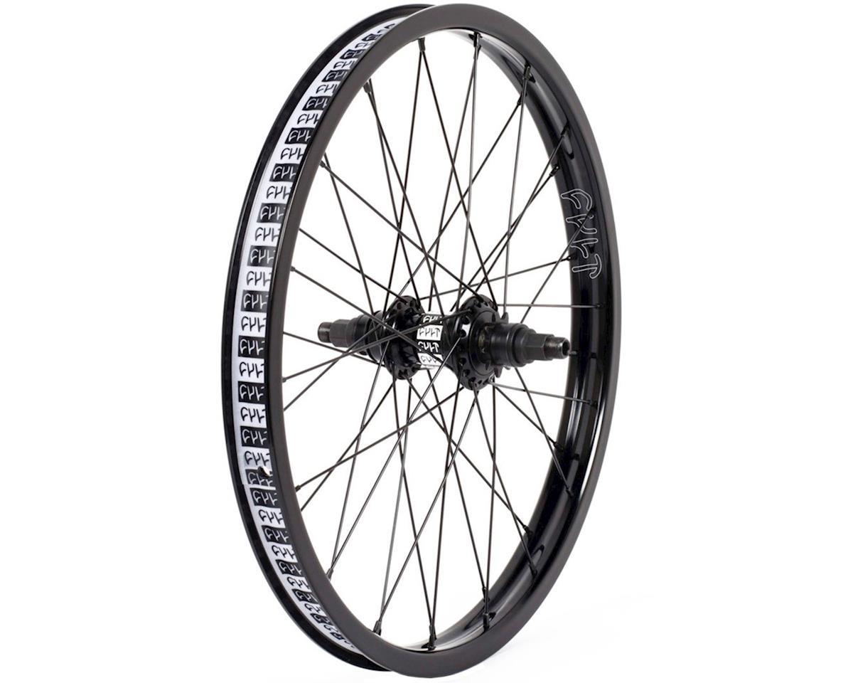 "Cult Crew Freecoaster Rear Wheel (Black) (Right Hand Drive) (20 x 1.75"")"