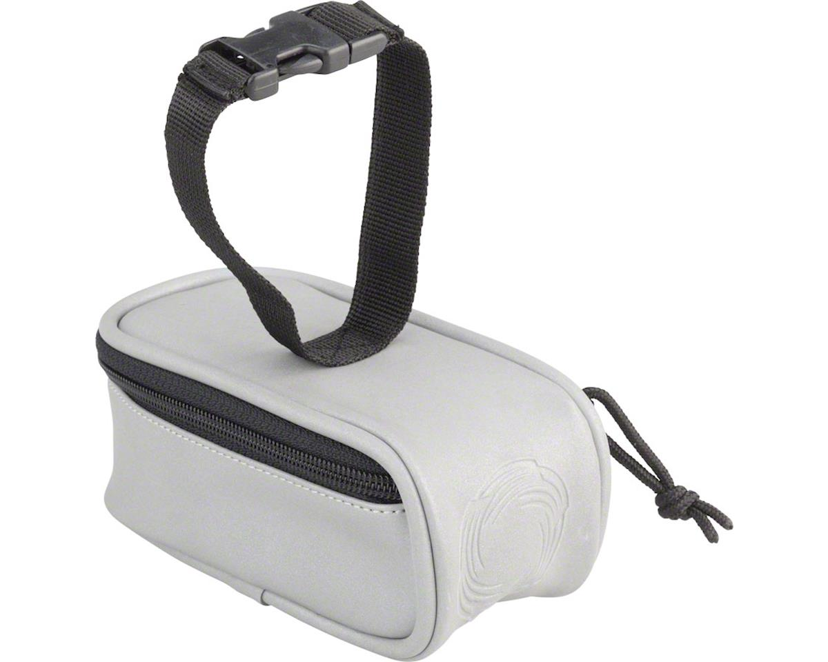 CycleAware Beamer Fully Reflective Saddle Bag: Silver