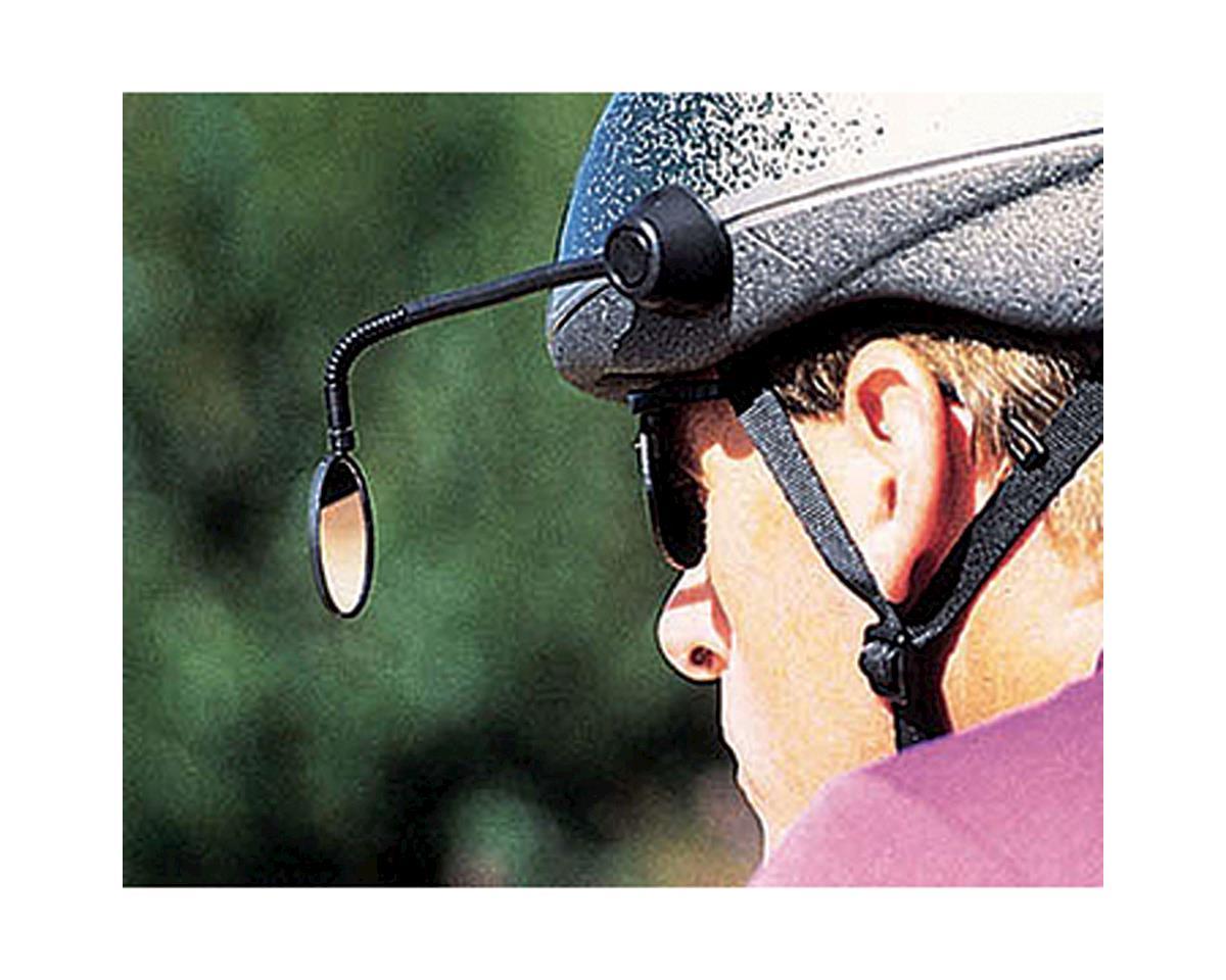 CycleAware Reflex Helmet Mirror Adhesive~ Black