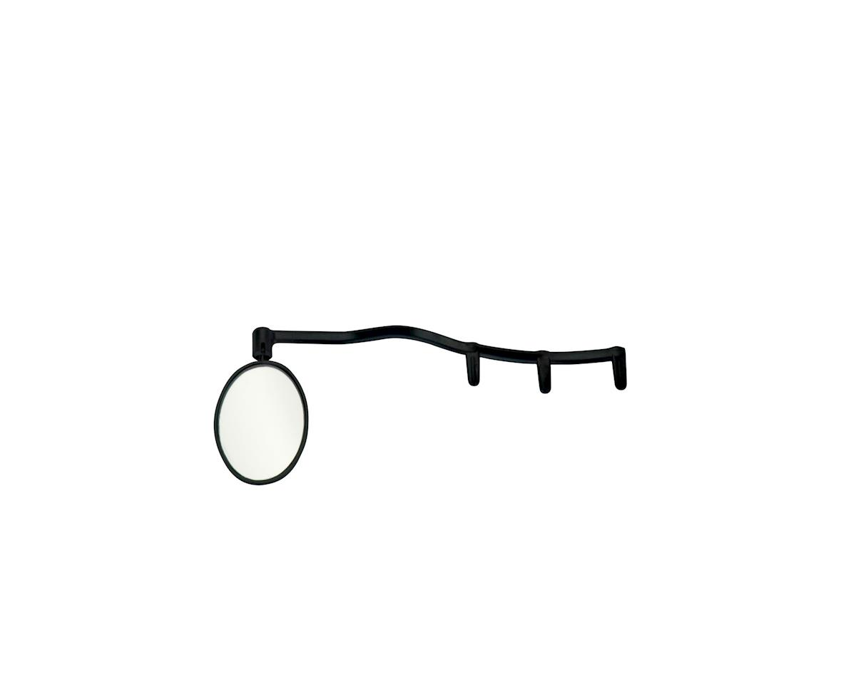 Cycleaware Heads Up Eyeglass Mirror (Clip-on) (Black)