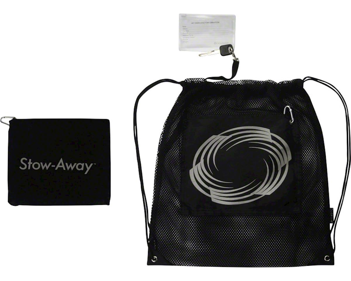 CycleAware Stow-Away Packable Backpack: Black