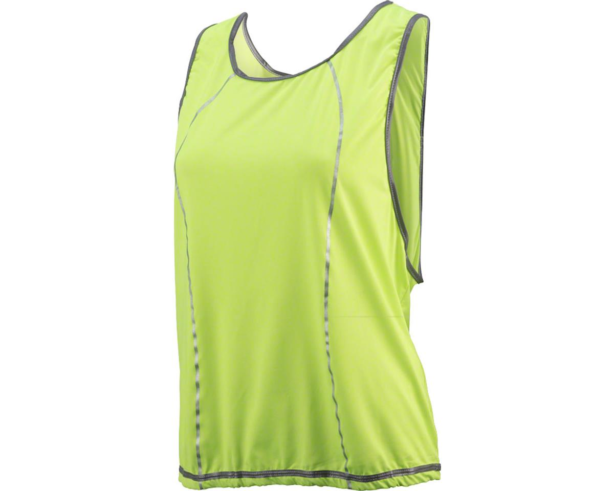 Cycleaware Reflect+ Hi-Vis Reflective  Women's Vest (Neon Green/Dots)