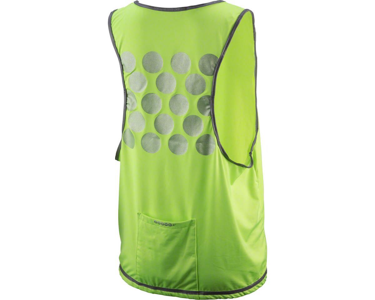 Cycleaware Reflect+ Hi-Vis Reflective  Women's Vest (Neon Green/Dots) (M/L)