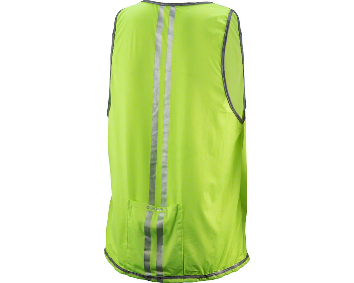 Cycleaware Hi-Vis Reflective Unisex Vest (Neon/Reflective Stripes) (SM/MD)