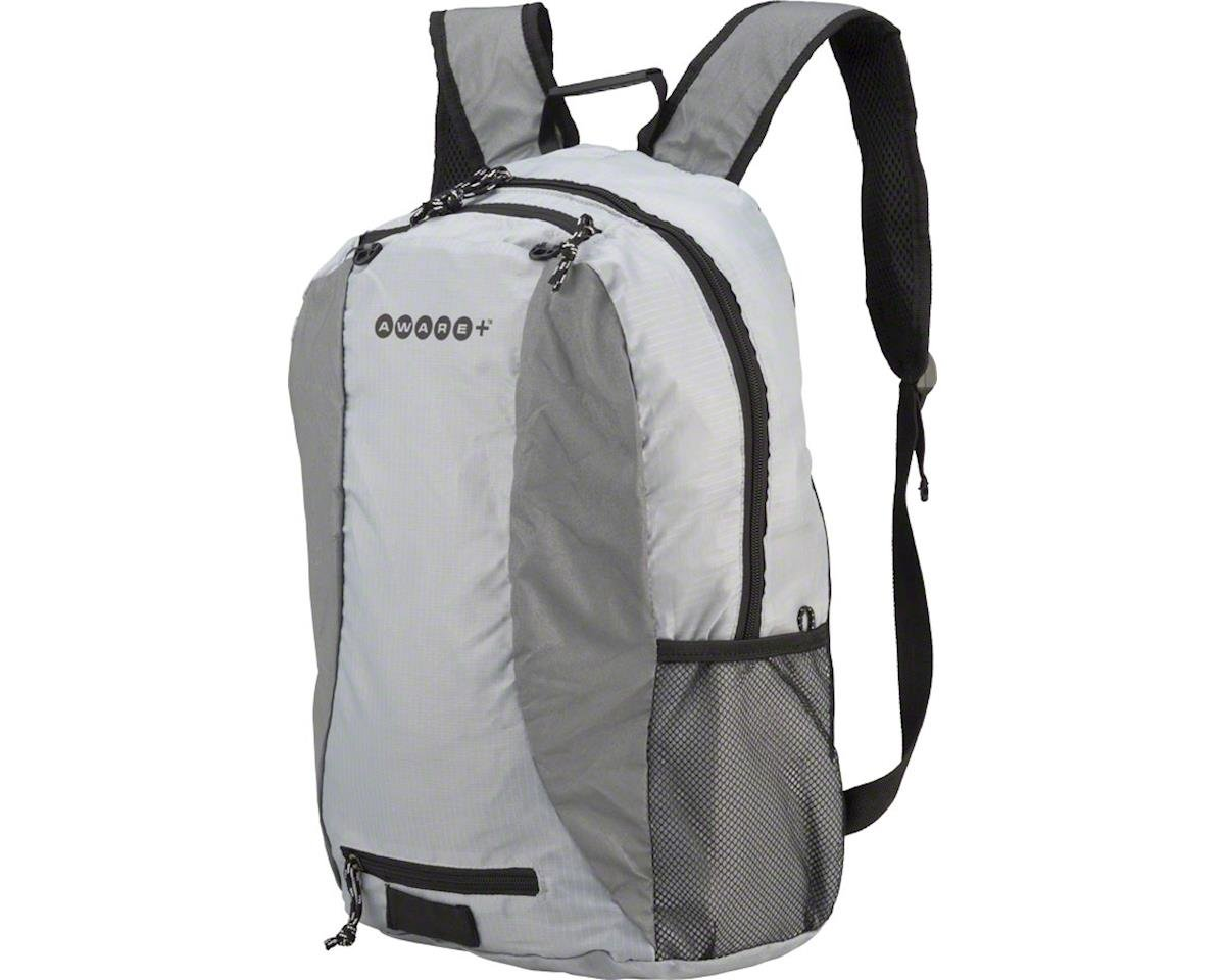 Cycleaware Reflect+ Bike Frame Backpack (Gray)