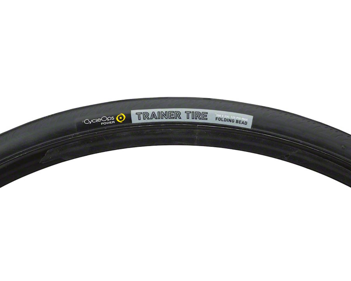 Trainer Tire 700 x 23c  Folding Bead Black
