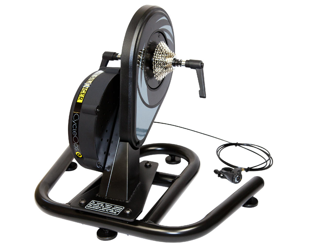 CycleOps The Silencer Direct Drive Mag Trainer (Black) (Cassette not Included)