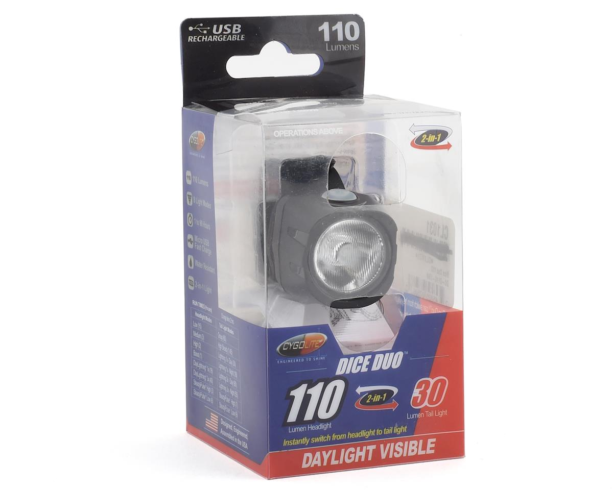 Cygolite Dice Duo 110 Rechargeable Head/Taillight