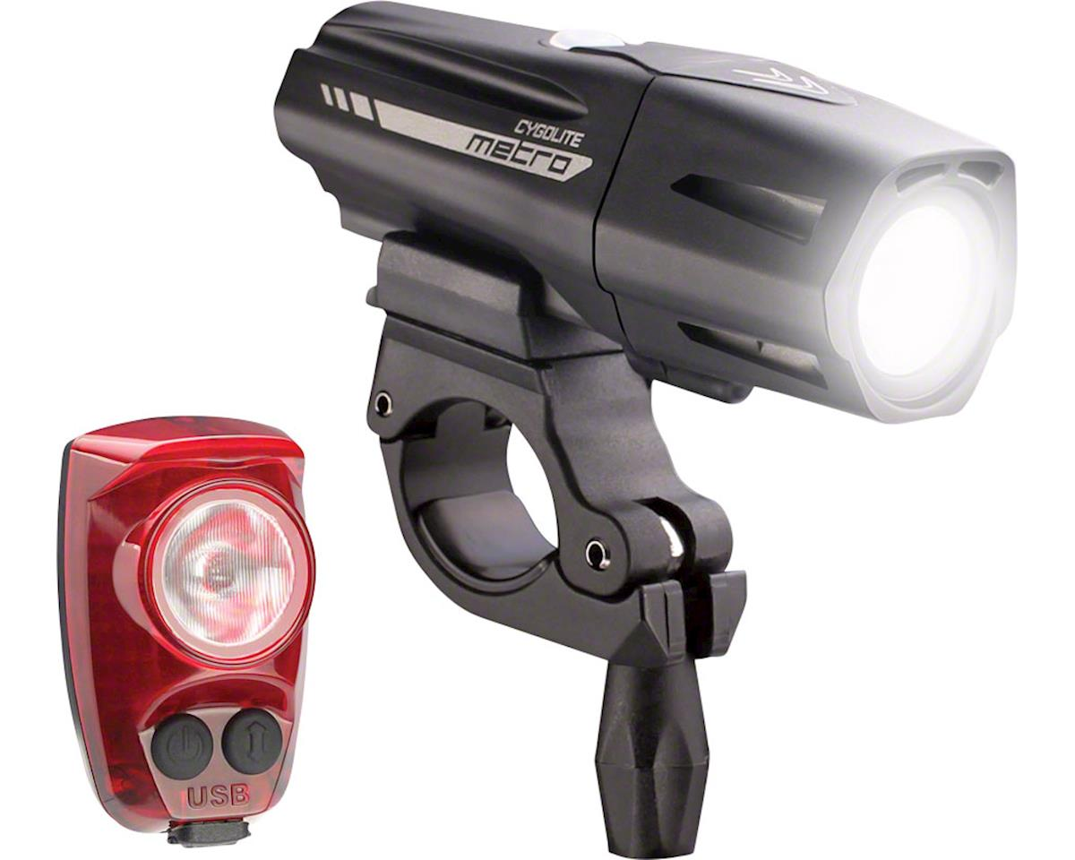 Cygolite Metro Plus 800 Headlight & HotShot Pro 150 Taillight Set