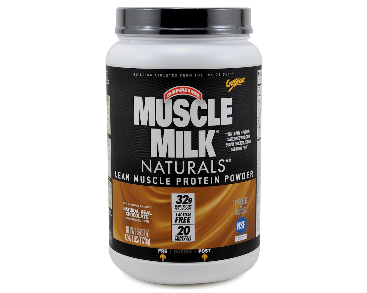 Cytosport Muscle Milk Naturals Protein Powder (15 Servings) (Natural Real Chocolate)