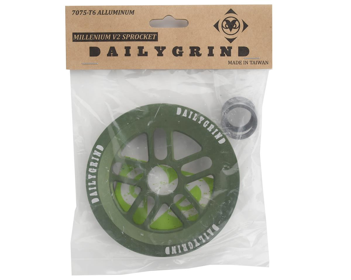 Image 3 for Daily Grind Millennium Guard V2 Sprocket (Green) (25T)