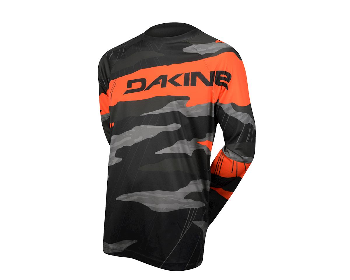 Dakine Descent Long Sleeve Jersey - 2016 (Black/Orange)