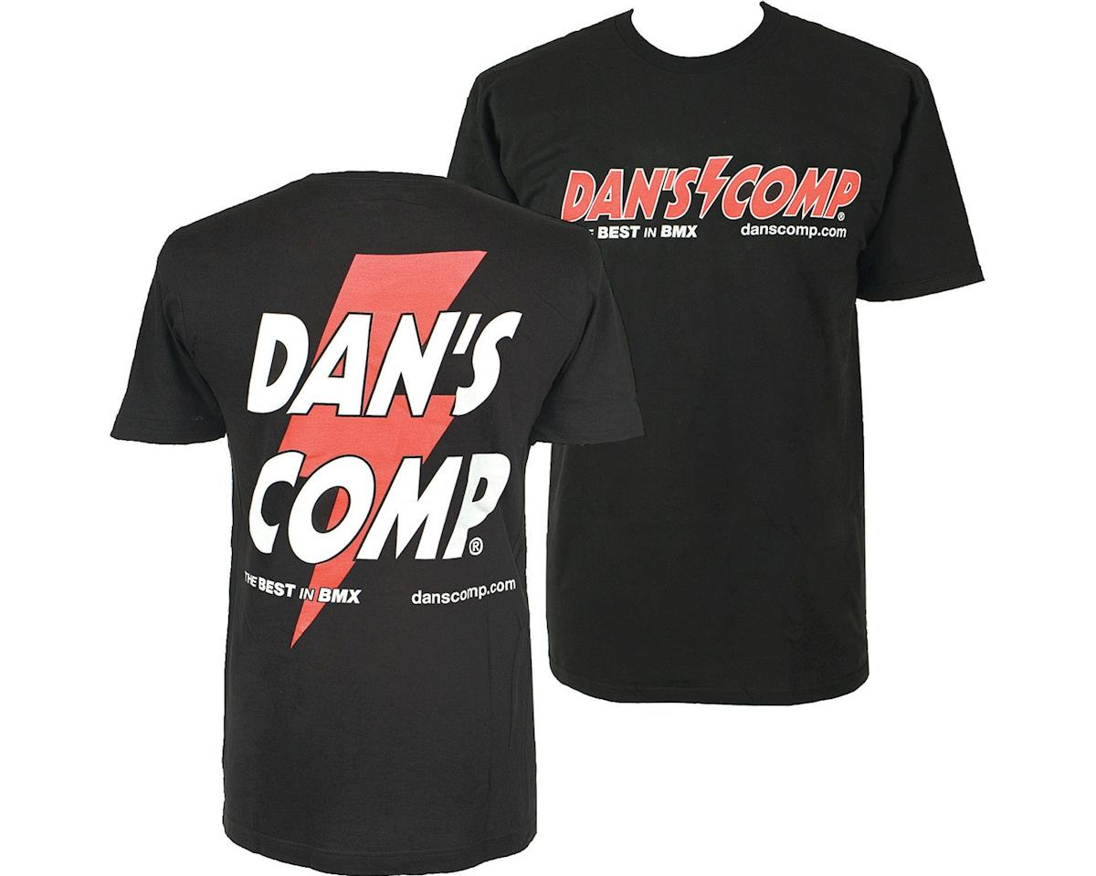 Dan's Comp Dans Comp Worlds T-Shirt (Black) (3XL)