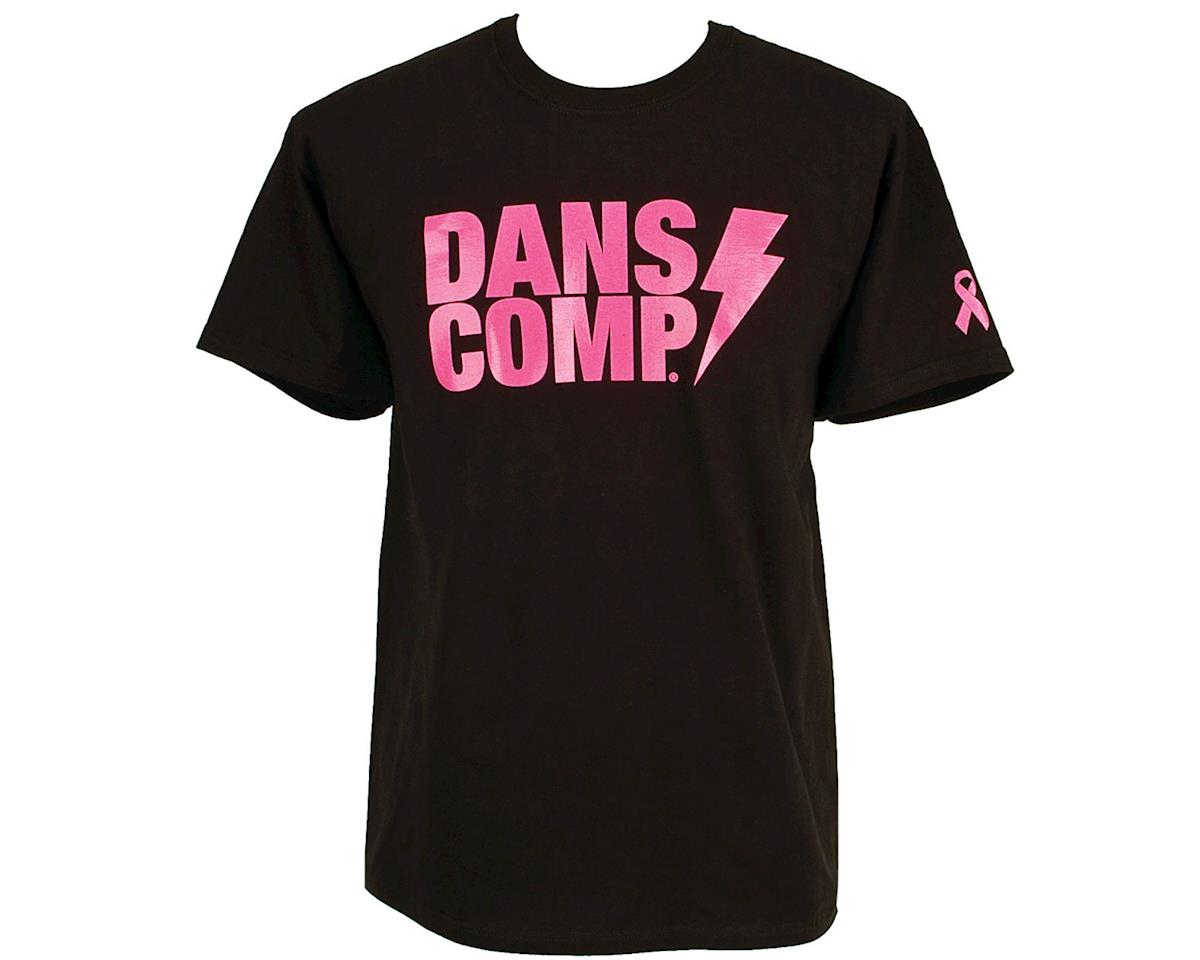 Dan's Comp Dans Comp Think Pink T-Shirt (Black/Pink)