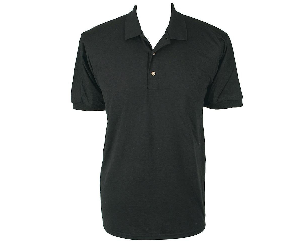 Dan's Comp Polo Shirt (Black) (Kids L)