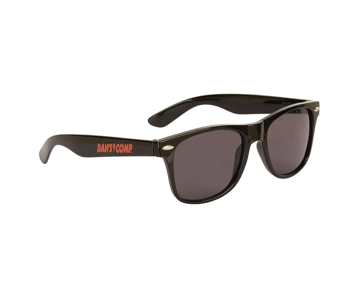 Dan's Comp Decade Shades Sunglasses (Black/Red) (One Size Fits Most)