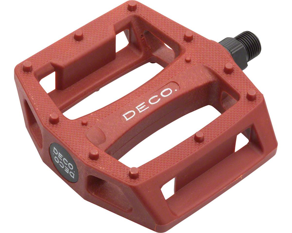 PC Pedals Red