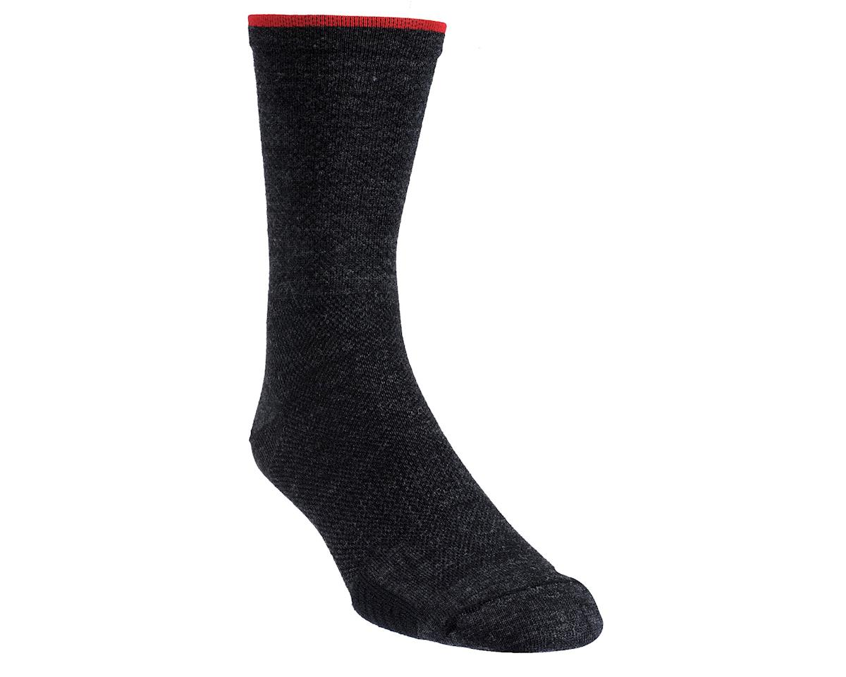 DeFeet Cyclismo Wool Socks - Performance Exclusive (Black/Red)