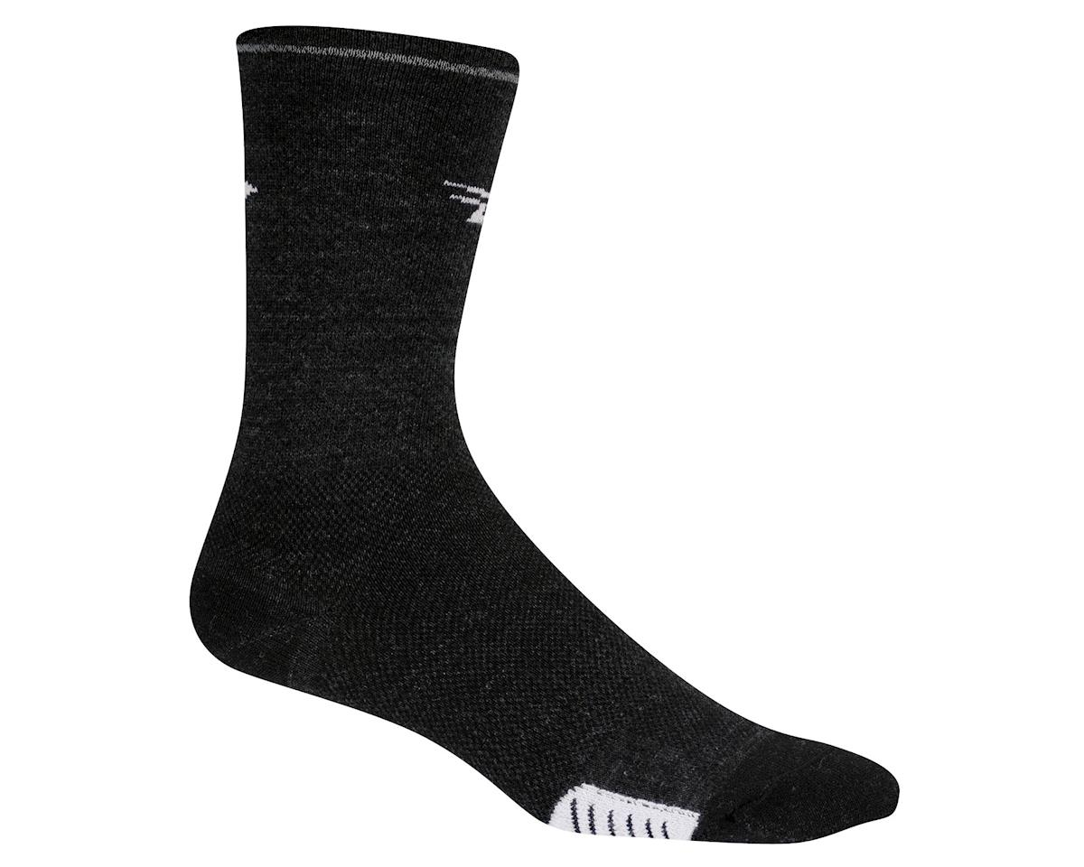 DeFeet Cyclismo Wool Reflective Socks (Grey)