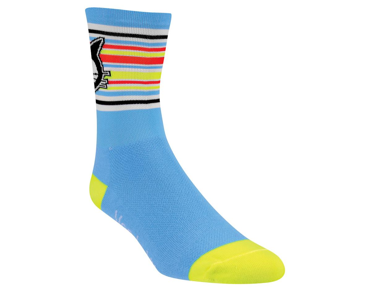 "DeFeet Aireator Vanderkitten Socks - 5"" Cuff (Blue)"
