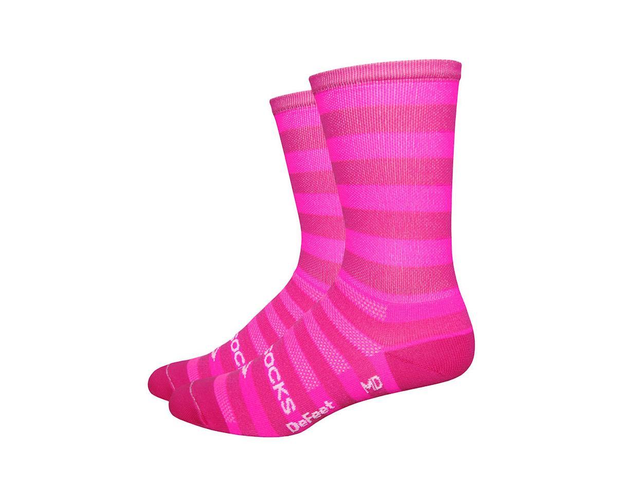 DeFeet Sako7 New York Hipster Socks (Pink)