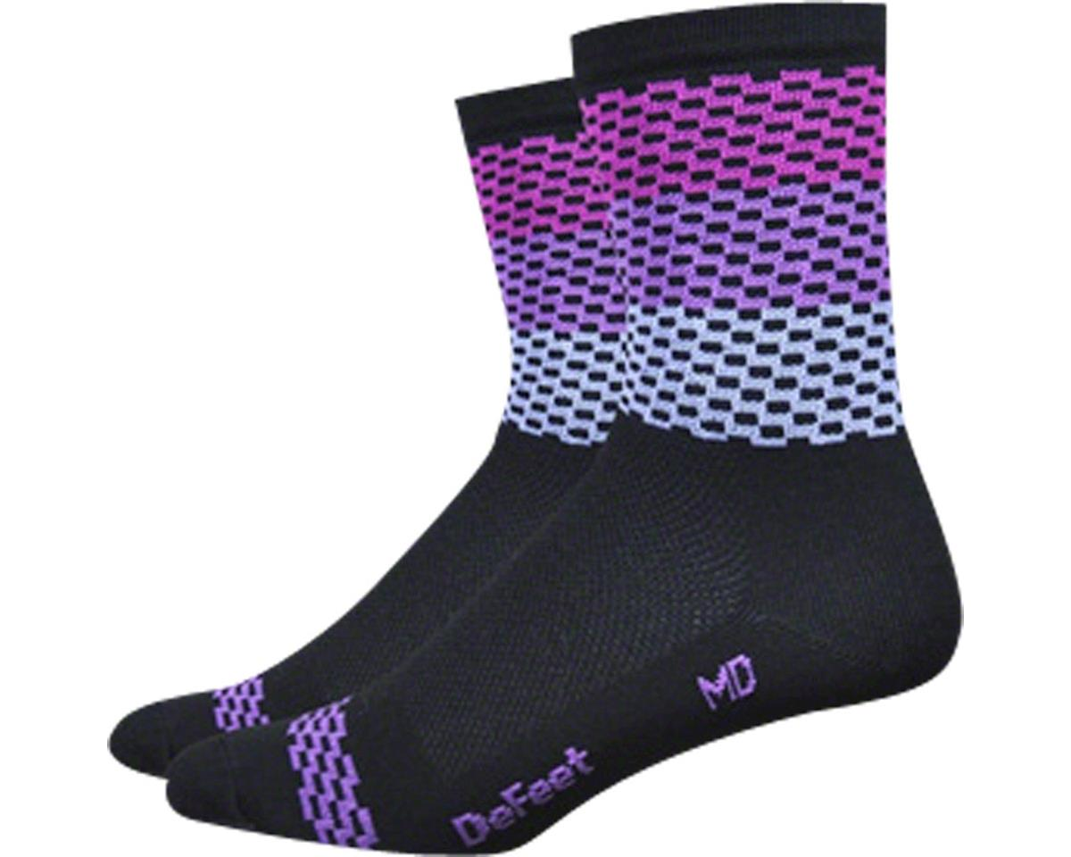 "DeFeet Hi Rouleur Aireator 6"" Speak Easy Sock"