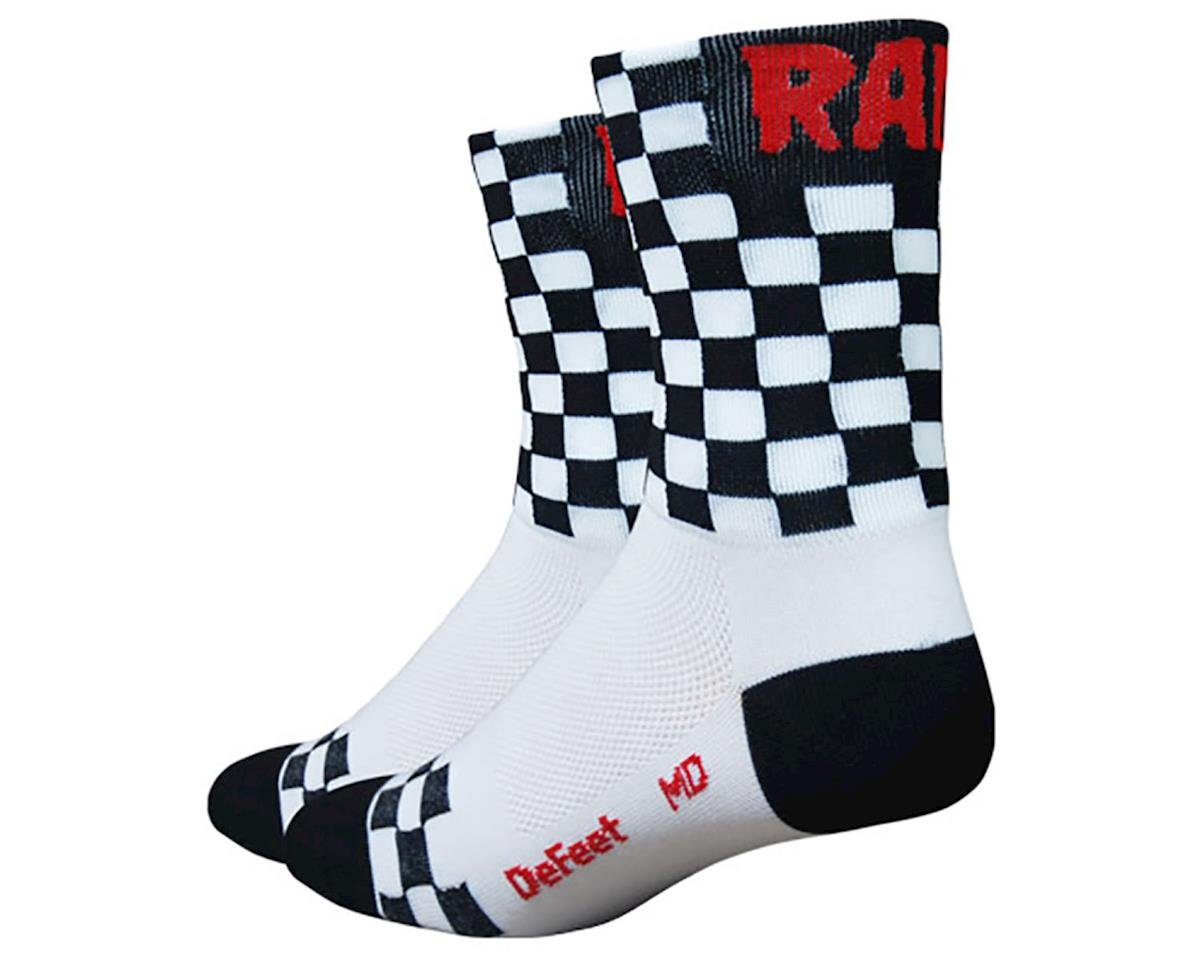 "DeFeet Aireator 5"" Checkmate (White/Black)"