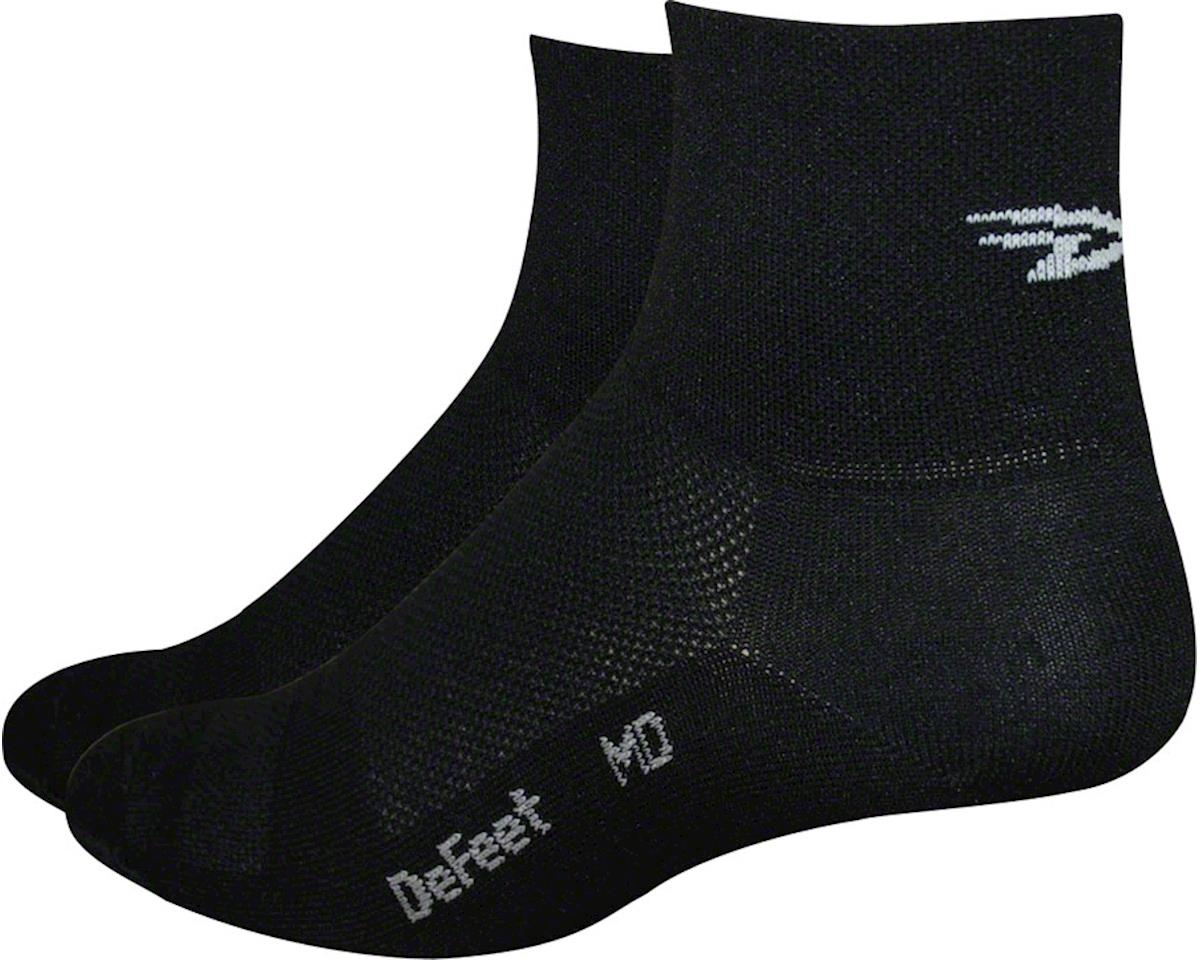 "DeFeet Aireator 4"" Sock (Black) (S)"