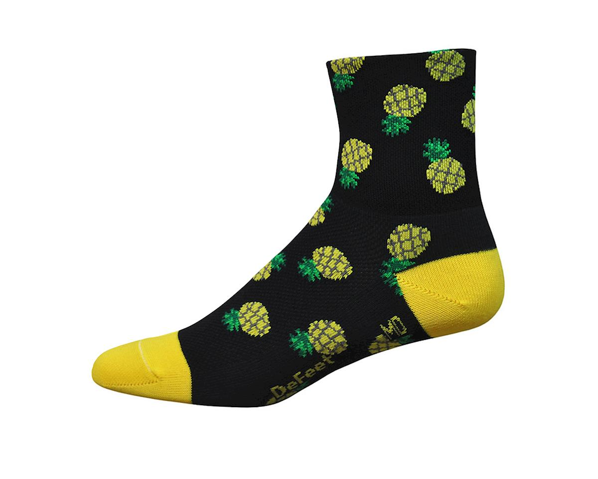 "DeFeet Women's Aireator 3"" Sock (Pineapple) (S)"