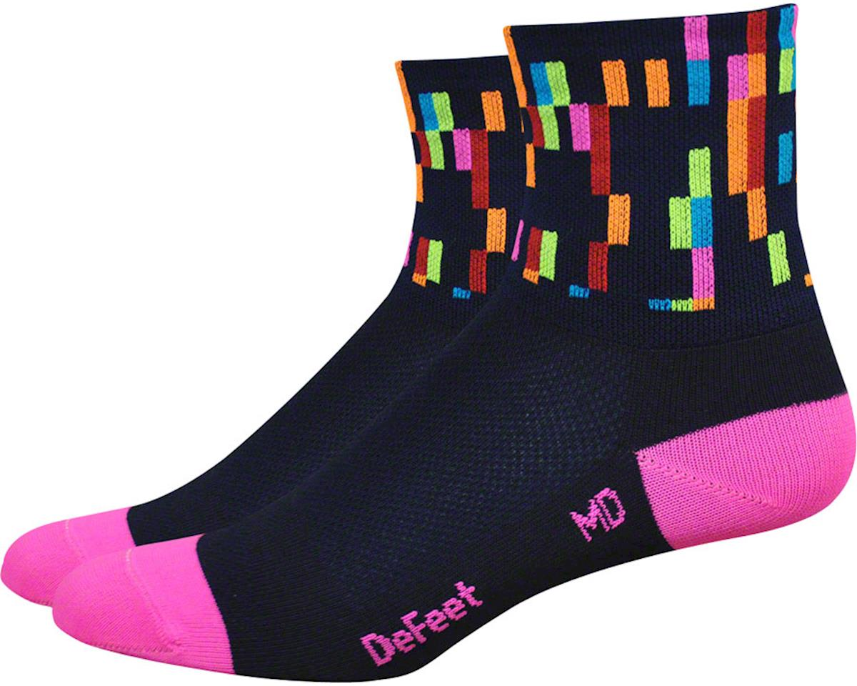 "DeFeet Women's Aireator 3"" Sock (Pixel) (S)"