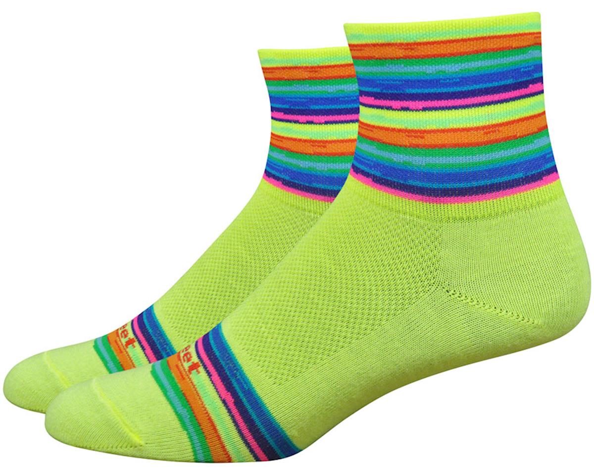 "DeFeet Women's Aireator 3"" Sock (Spectrum) (S)"