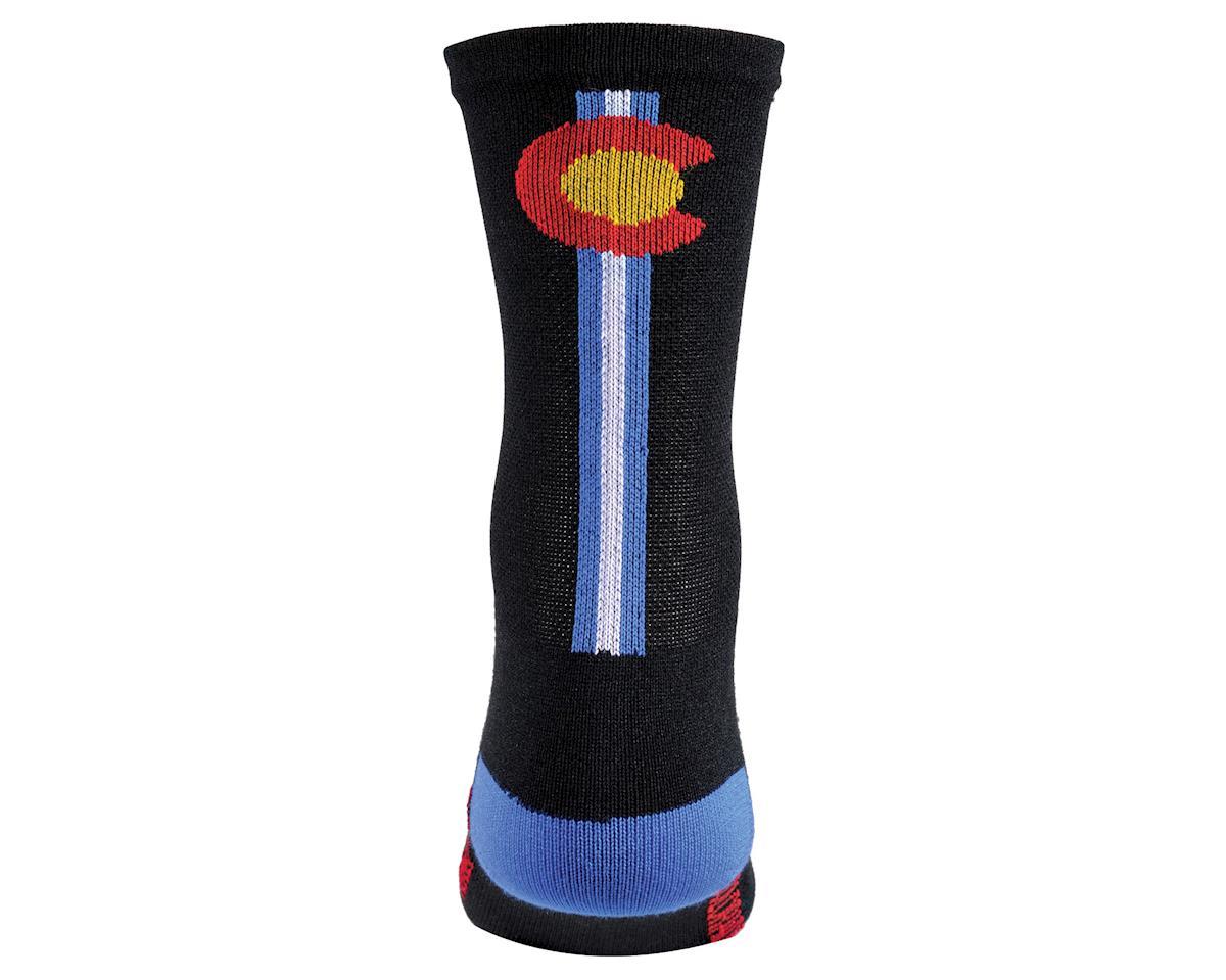 """DeFeet Aireator 5"""" Sock (Colorado) (L)"""
