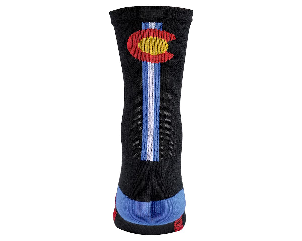 """DeFeet Aireator 5"""" Sock (Colorado) (XL)"""