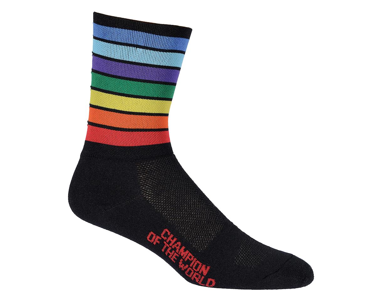 "DeFeet Aireator 5"" Sock (Champion of the World Sock) (XL)"