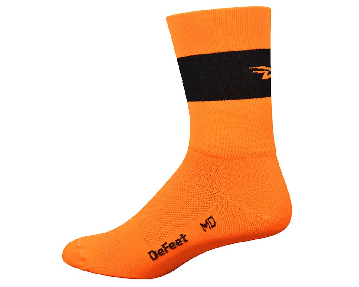 DeFeet Aireator Team DeFeet Sock (Hi-Vis Orange) (M)