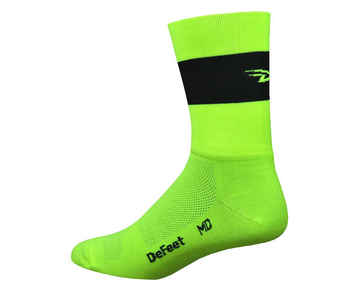 DeFeet Aireator Team DeFeet Sock (Hi-Vis Yellow) (XL)