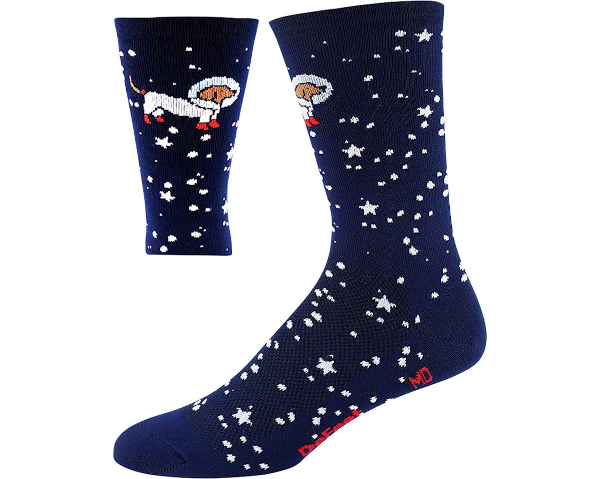"DeFeet Aireator 6"" Doggo Sock (Navy Blue) (M)"