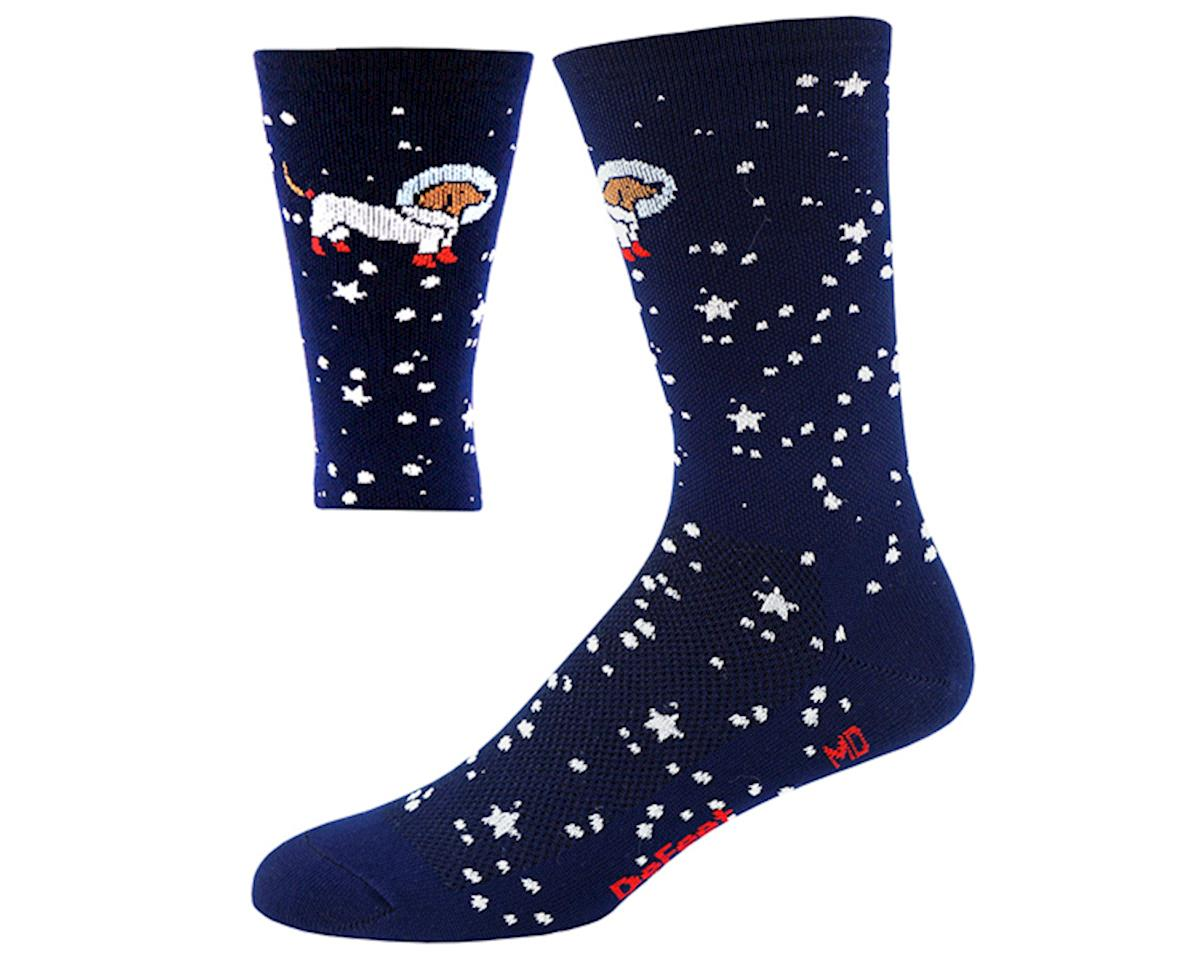 "DeFeet Aireator 6"" Doggo Sock (Navy Blue) (L)"