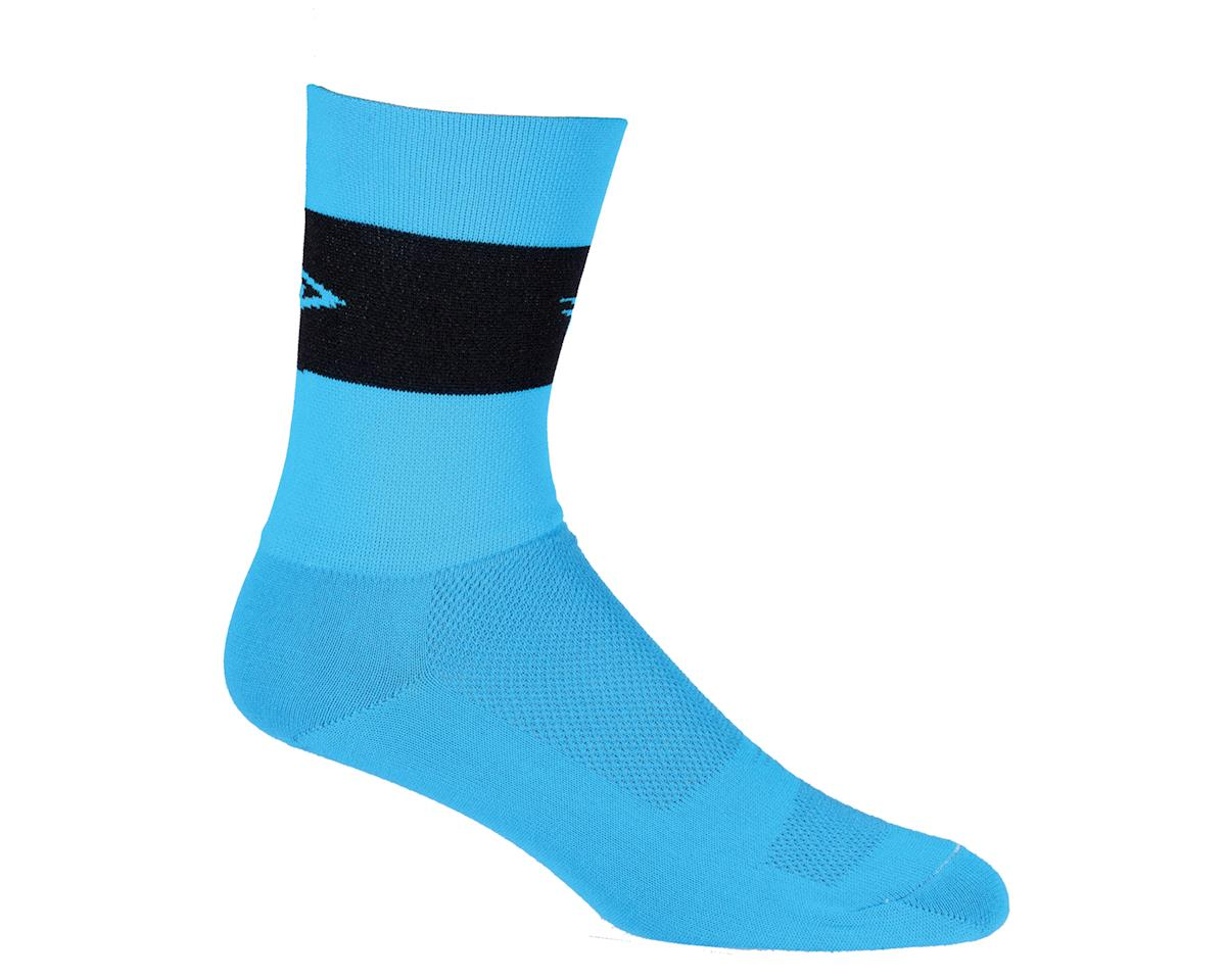 "DeFeet  Aireator 5"" Sock (Process Blue) (L)"