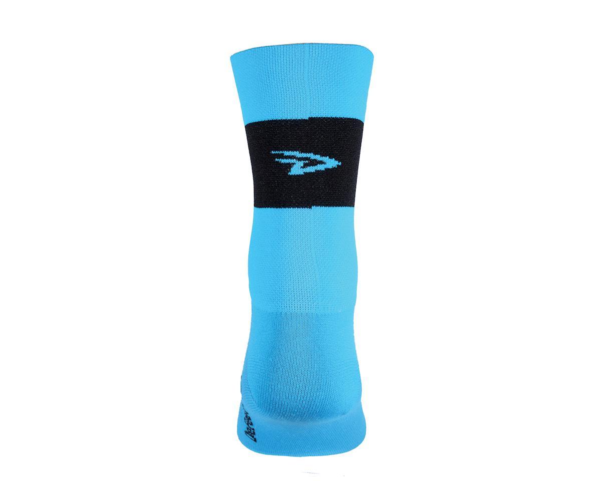 """DeFeet  Aireator 5"""" Sock (Process Blue) (L)"""