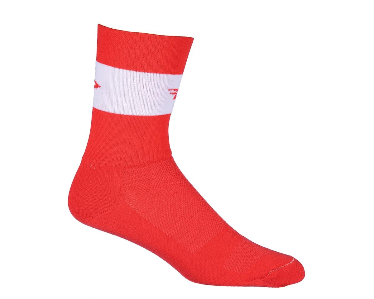 DeFeet Aireator Team DeFeet Sock (Red) (XL)