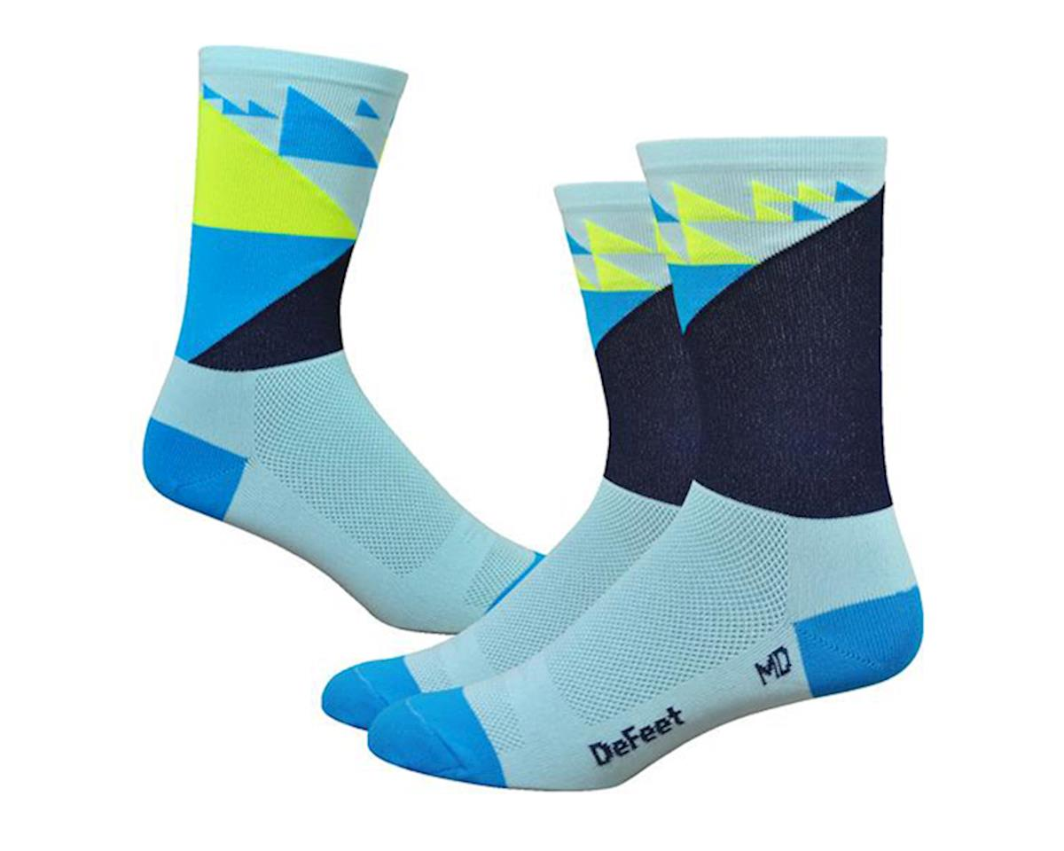 "DeFeet Aireator 6"" Galibier Socks (Blue) (L)"