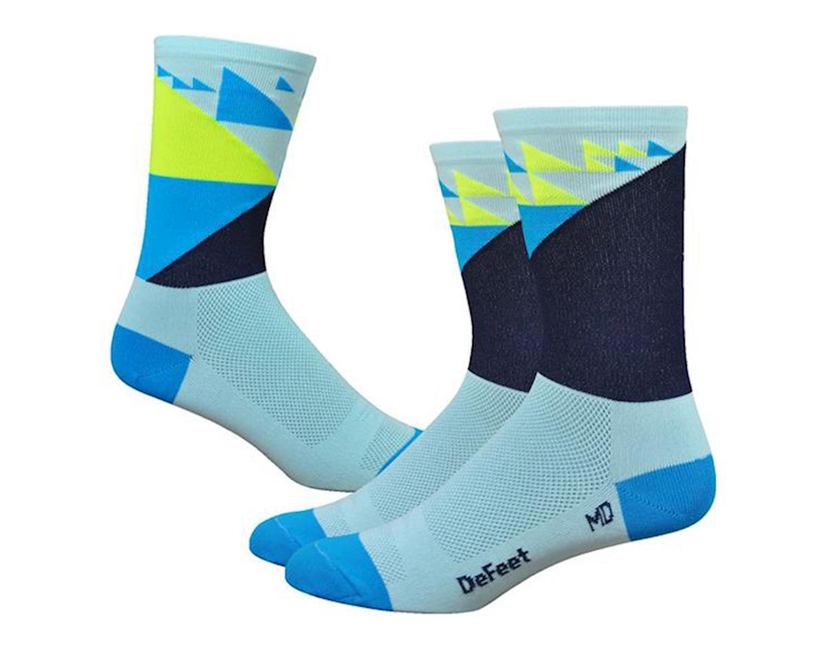 "DeFeet Aireator 6"" Galibier Socks (Blue) (L)"