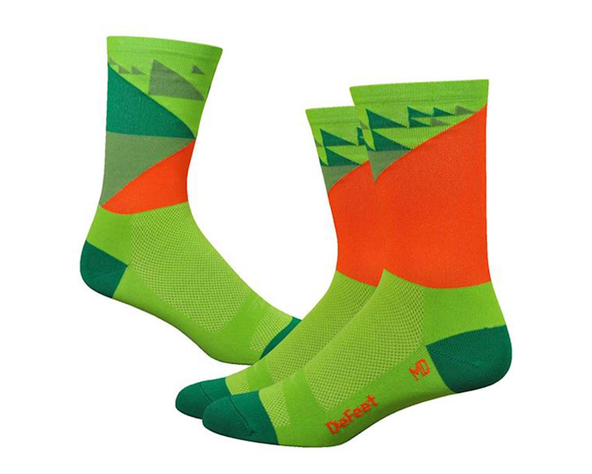 "DeFeet Aireator 6"" Galibier Socks (Green) (XL)"